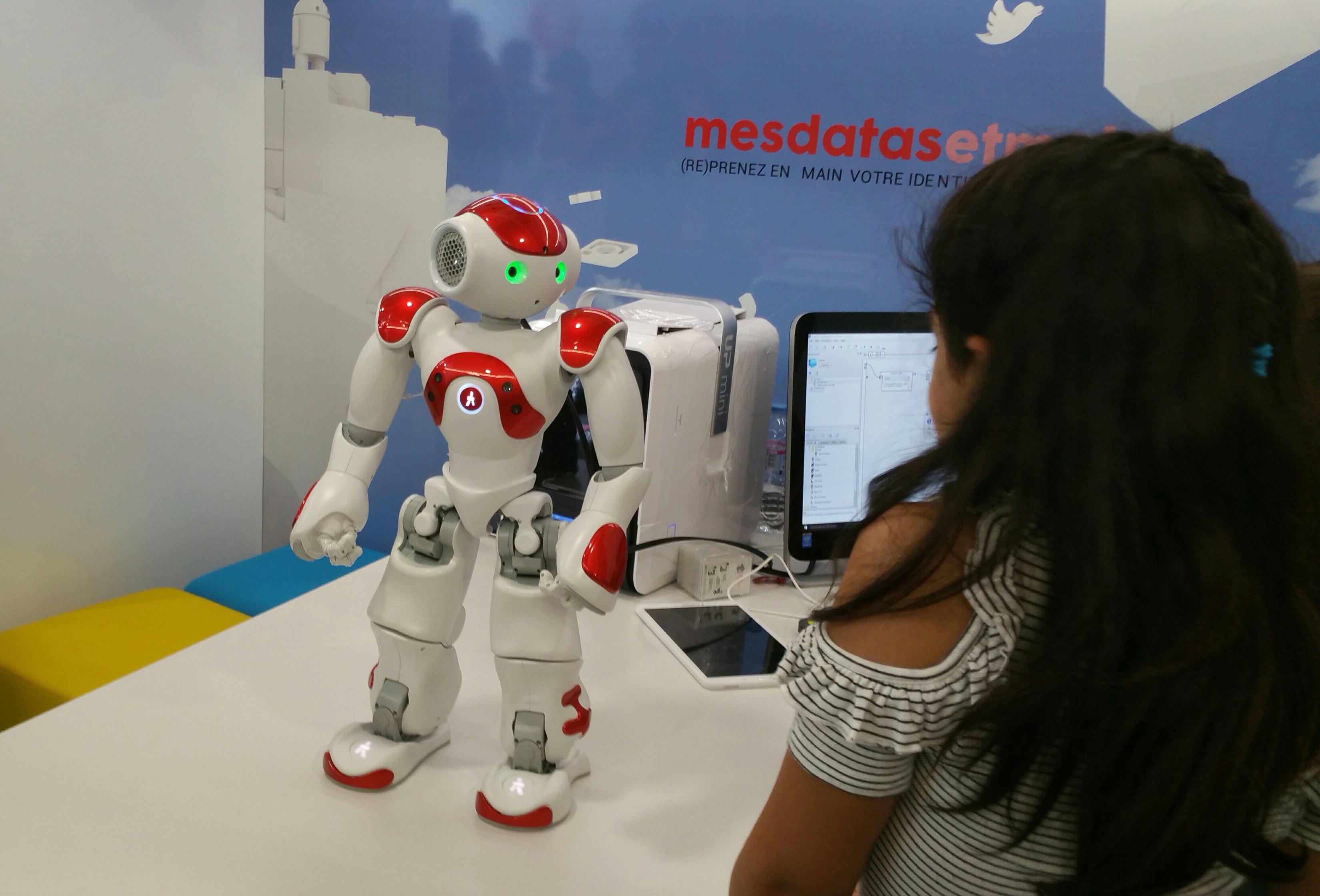 bus numérique Robot