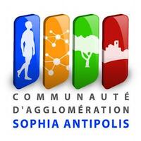 logo de la communauté d'agglomération Sophia Antipolis