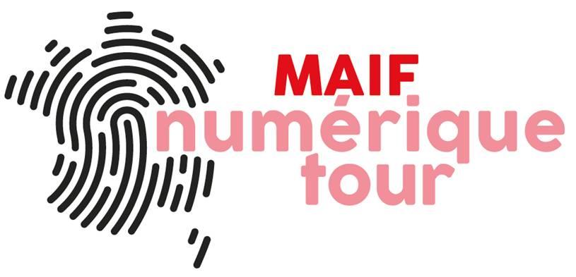 Logo MAIF numérique tour