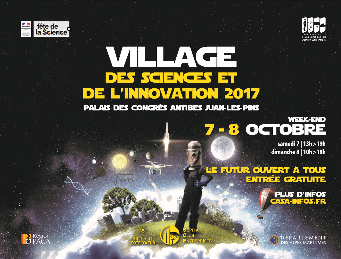 affiche Village des Sciences et de l'Innovation vsi2017