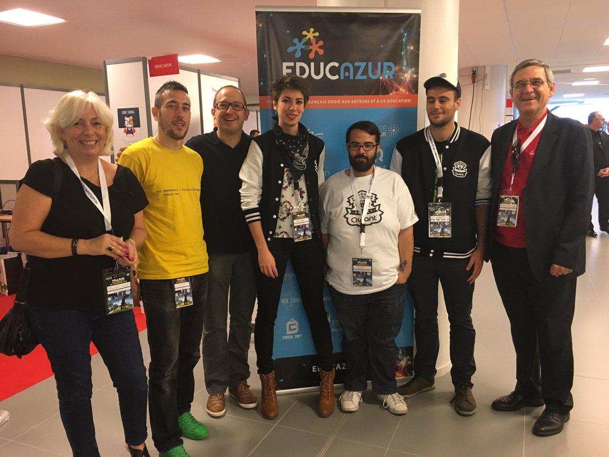 l'équipe EducAzur à VSI