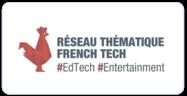 logo réseau FrenchTech #EdTech #Entertainment