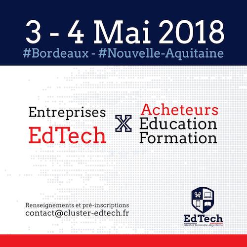 Rencontres EdTech à Bordeaux