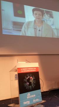 Allocation vidéo de F. Vidal lors de la ConfEP