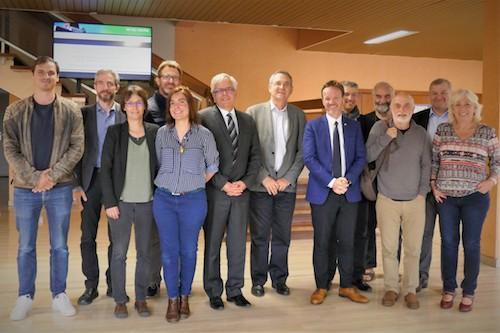 Visite du député Cédric Roussel