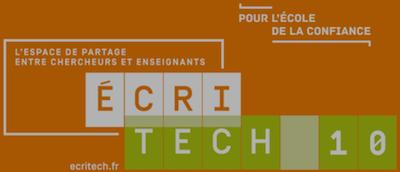 Logo de la conférence EcriTech 2019