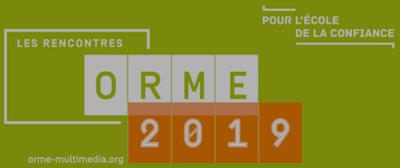 Logo des Rencontres de l'Orme 2019