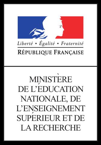 Logo du Ministère de l'éducation nationale, de l'enseignement supérieur et de la recherche