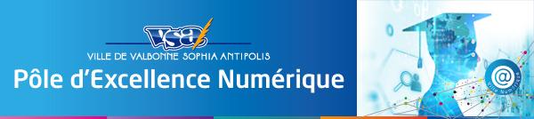 Pôle d'Excellence Numérique de la ville de Valbonne Sophia Antipolis