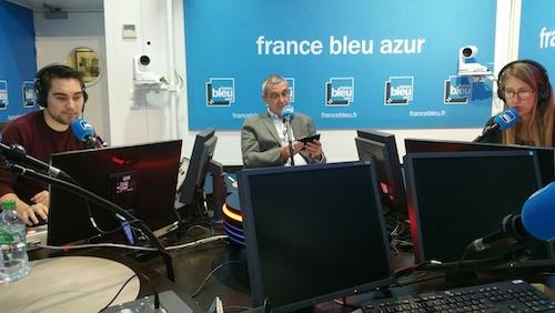 """Enregistrement de l'émission """"Ca vaut le détour"""" à France Bleu"""