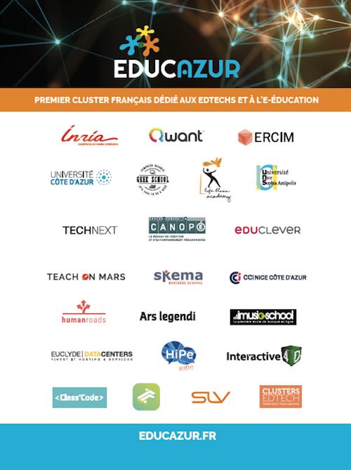 Membres Educazur - août 2019