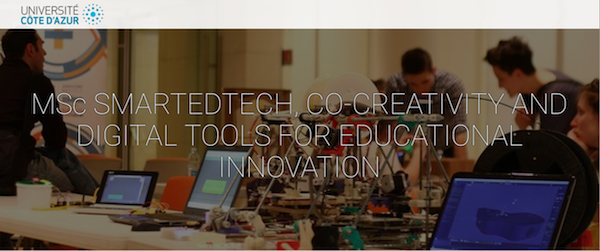 MSc SmartEdTech Co-Creativity and Digital Tools for Educational Innovation