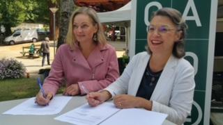 Signature du partenariat entre Treenaut et Canopé