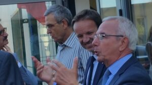 Gérard Giraudon, Cédric Roussel et Jean Léonetti