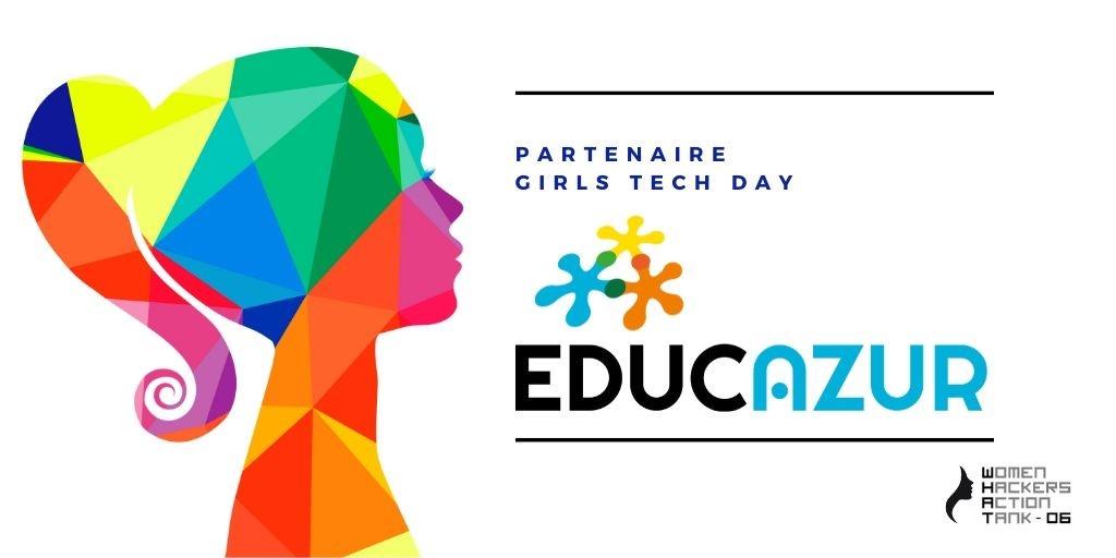 EducAzur est partenaire de Girls Tech Day, le 14 novembre 2020