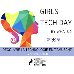 Visuel de la journée Girls Tech Day - 14 nov. 2020