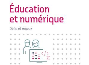 """Première couverture du Livre Blanc Inria """"éducation et numérique"""""""