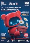 Affiche du Village des Sciences et Innovation 2021